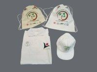 Baskılı Set (Şapka & T-shirt & Gabardin Sırt Çantası & Buton Rozet)