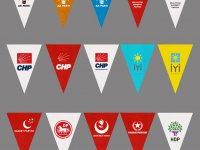 Nonwoven Parti Bayrakları