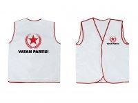 Nonwoven Siyasi Parti Yelekleri