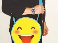 Yılbaşı Emoji Hediyelik Çanta